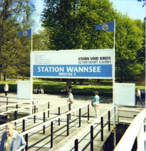 Wannsee Station (Cruise the Wannsee River)