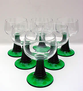 Travels Through Germany - German Wine Glasses