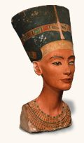 Bust of Nefertiti, Egyptian Museum, Berlin, Germany